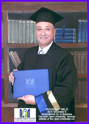 Youssef Hilo - BSc Graduation Photo
